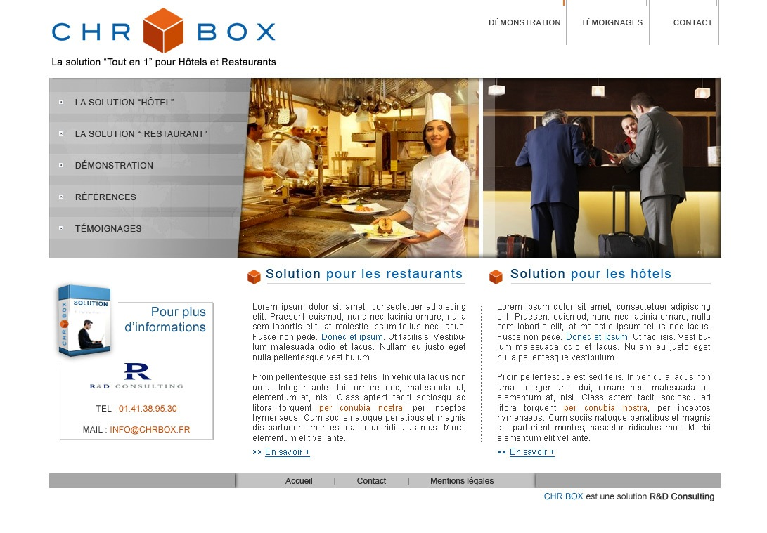 Site Internet - CHR Box