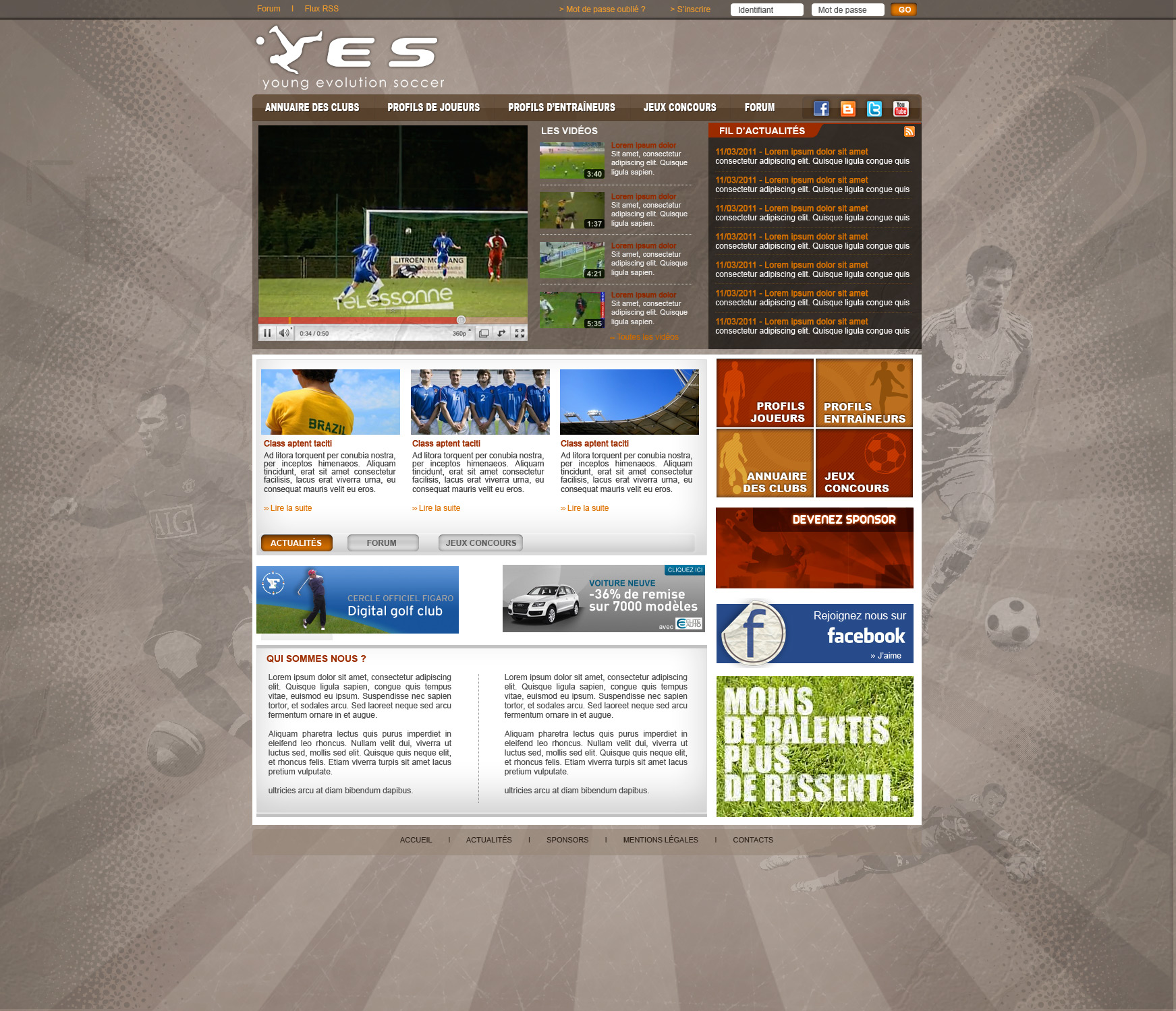 Site Internet - YES