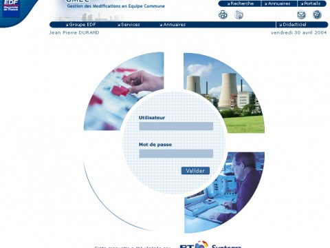 Site Intranet EDF-GMEC