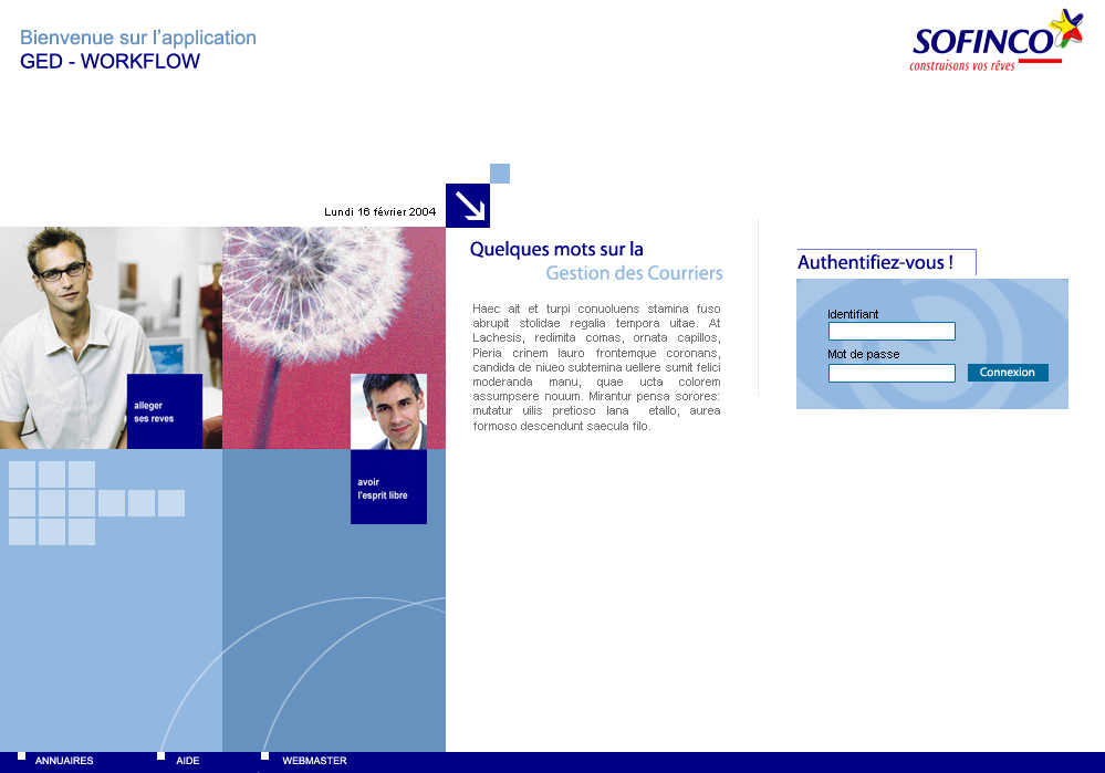 Site Intranet Sofinco