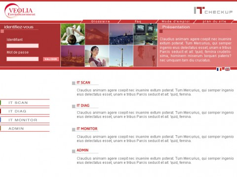 Site Intranet Véolia